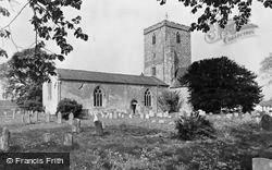 Cholsey, The Church c.1960