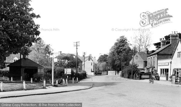 Photo of Cholsey, Wallingford Road c1960