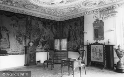Astley Hall, The Drawing Room c.1965, Chorley