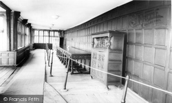 Astley Hall, The Long Gallery c.1965, Chorley