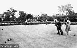 Chorley, Bowling Green, Coronation Gardens c.1965