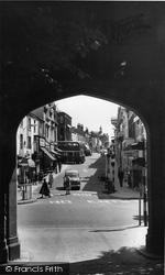 Chorley, Chapel Street c.1965