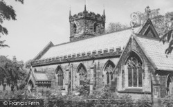 Chorley, Church Of St Lawrence c.1965