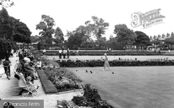Coronation Grounds, Bowling Green c.1965, Chorley