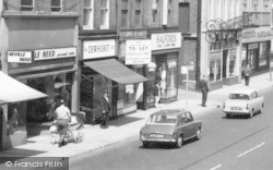 Chorley, Shops In Market Street c.1965