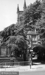 St Mary's Church c.1965, Chorley