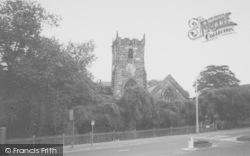 Chorley, The Parish Church c.1965