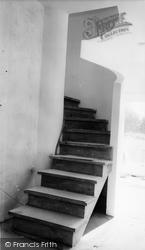 Chorleywood, Oaklands, Staircase c.1960