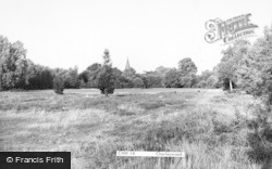 Chorleywood, The Church Spire From The Fields c.1960