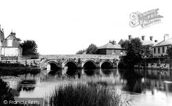 Bridge On The Avon 1900, Christchurch