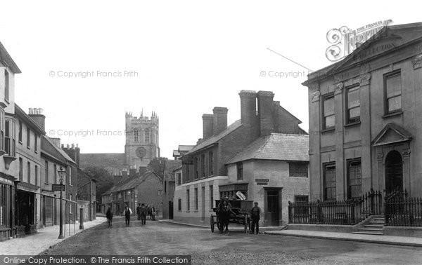 Christchurch, Church Street 1900