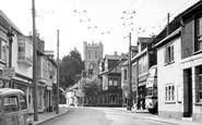 Christchurch, Church Street c1955