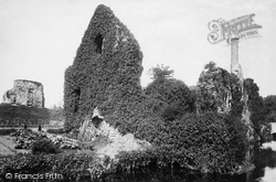 Constable's House And Castle Keep 1900, Christchurch