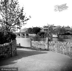 Convent Walk And The River Avon c.1955, Christchurch