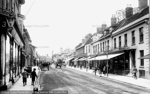 Christchurch, High Street 1900