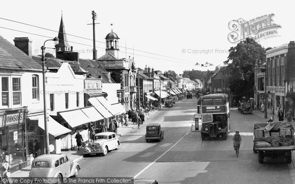 Photo of Christchurch, High Street c.1955