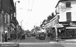 High Street c.1955, Christchurch