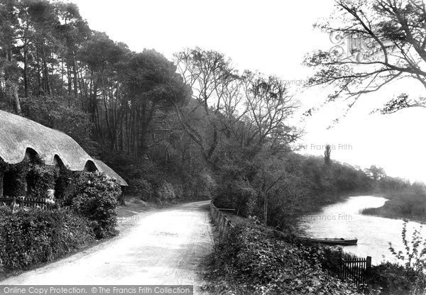 Christchurch, Hurn Road, at the Blackwater Ferry 1900