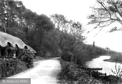 Hurn Road, At The Blackwater Ferry 1900, Christchurch