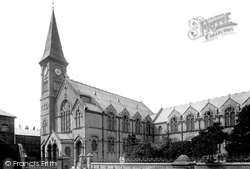Millhams Street Congregational Church 1900, Christchurch