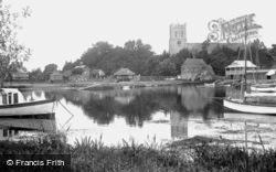 Priory Church And Quay 1918, Christchurch