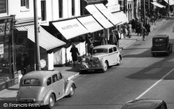 Standard And Jaguar Cars c.1955, Christchurch