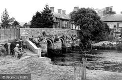 The Bridge c.1955, Christchurch