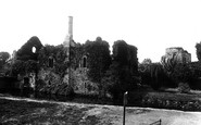 Christchurch, the Castle 1900