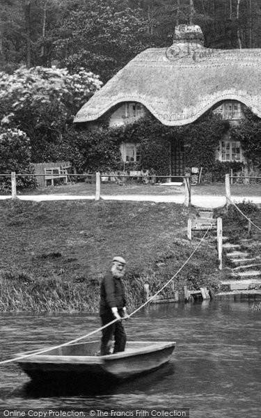 Photo of Christchurch, the Ferryman, Blackwater Ferry 1900