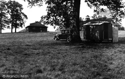 Christchurch, The Forest Of Dean Camping Site c.1960