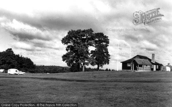 Christchurch, the Forest of Dean Camping Site c1955
