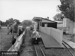 The Miniature Railway, Wick Ferry Holiday Camp c.1955, Christchurch
