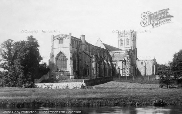 Photo of Christchurch, The Priory Church 1890