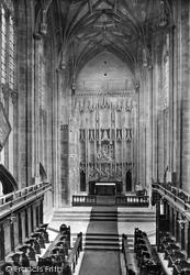 Christchurch, The Priory Church, The Jesse Screen 1918