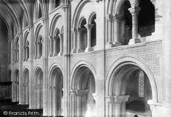 The Priory Church, The Triforium 1892, Christchurch