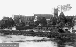 The Priory, From The Bridge 1890, Christchurch