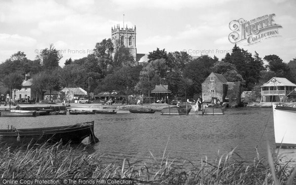 Christchurch, the Quay c1955