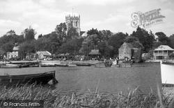 The Quay c.1950, Christchurch
