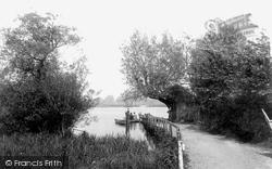 Wick Ferry, West Bank 1900, Christchurch
