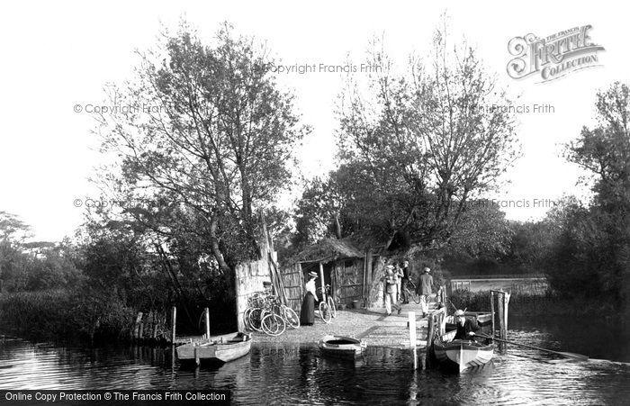 Christchurch, Wick Ferry, West Landing 1900