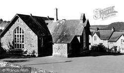 The School c.1965, Christow