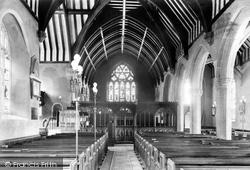 Church Interior 1907, Chudleigh