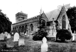 Church Of St Martin And St Mary 1907, Chudleigh