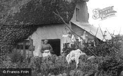 Chudleigh Knighton, Washing Day 1907