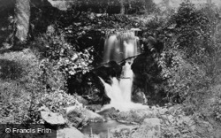 The Waterfalls, Ugbrooke Park c.1900, Chudleigh