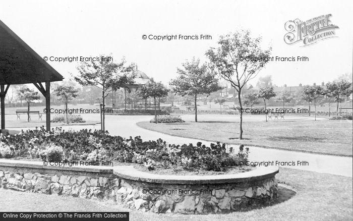 Photo of Church Gresley, Maurice Lea Memorial Park c.1955