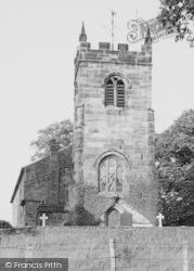 Church Lawton, All Saints Church c.1955