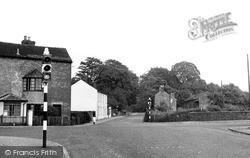 Church Lawton, The Crossroads c.1955