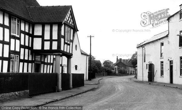 Church Minshull, Church Farm c1955