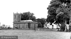 Church Minshull, St Bartholomew's Church c.1955